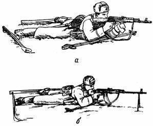 Техника стрельбы с колена