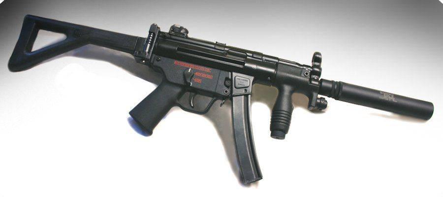 Пистолет-пулемет HK MP5K PDW
