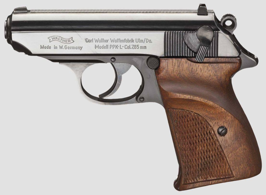 Образец для подражания – пистолеты вальтер.