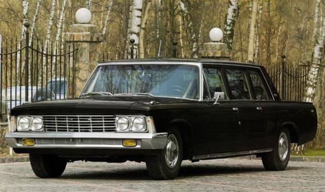 Советский лимузин зил - 114. описание и характеристики автомобиля