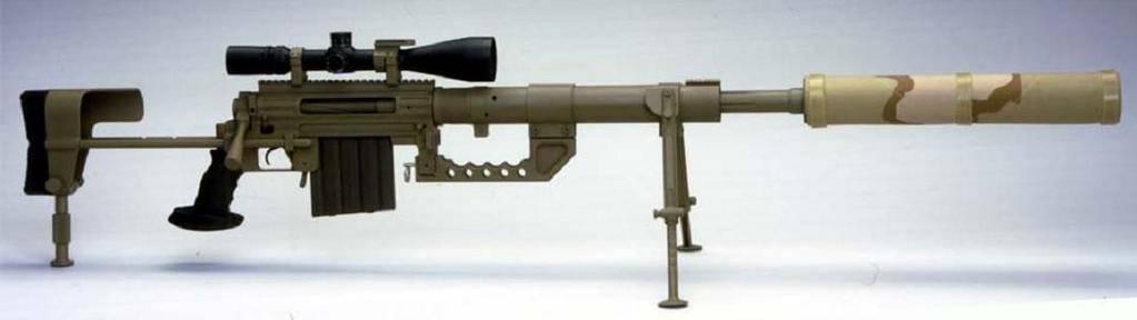Крупноколиберная снайперская винтовка chey tac intervention