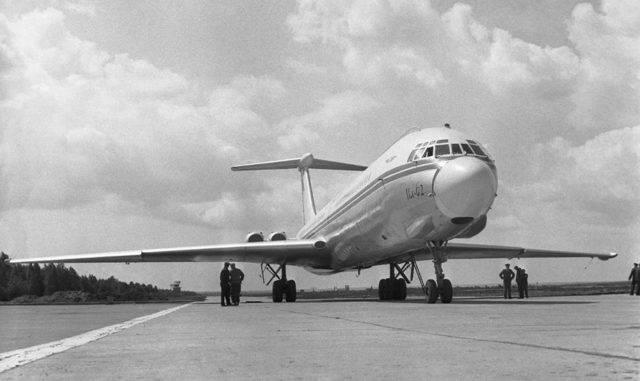 За штурвалом легенды: Ил-62