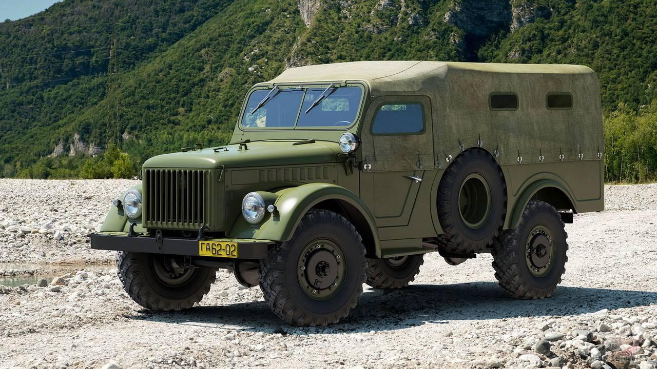 Газ-62 — армейский полноприводный грузовик, который оказался не нужен