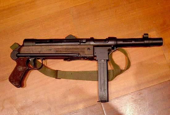 Пистолет-пулемет тип 05