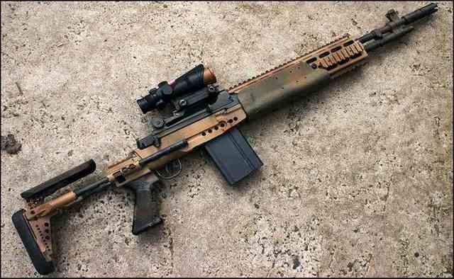 Снайперские системы м14, м21 и м25