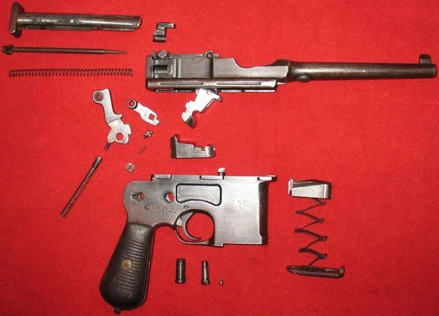 Mauser model 1893 - mauser model 1893