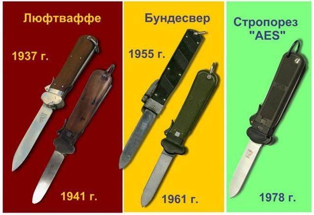 Гравитационный нож парашютиста: история стропореза