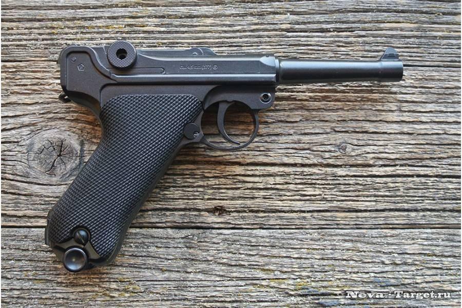 История пистолетов «парабеллум»,опыт использования и конструктивные особенности