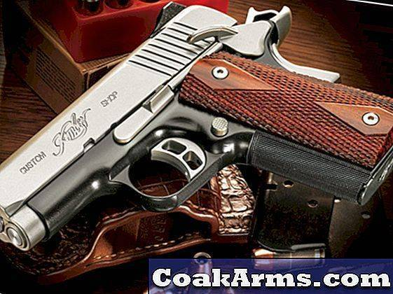 Стреляющий «чёрный лёд». пистолет kimber rapide black ice