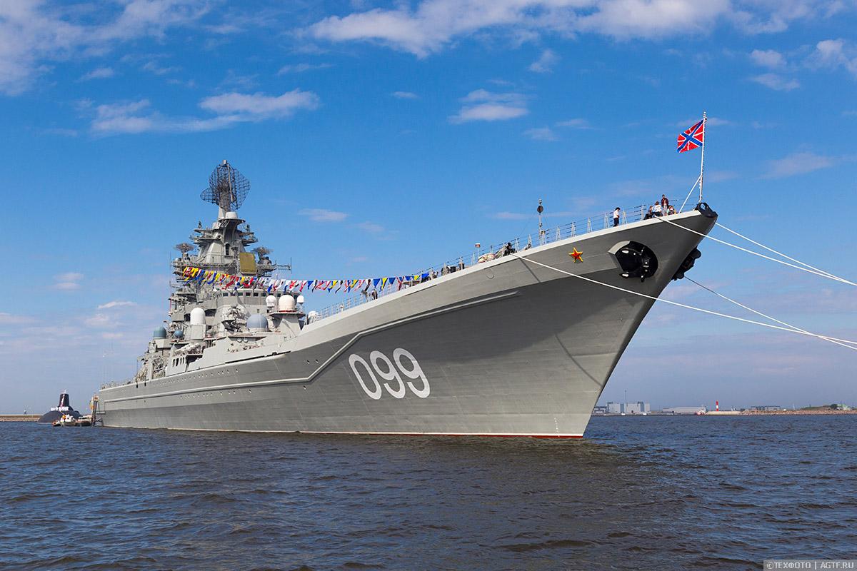 Тяжелый атомный ракетный крейсер типа «петр великий» пр. 1144.2
