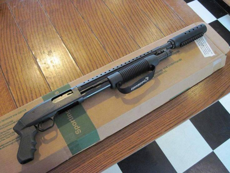 Легендарное помповое ружьё Mossberg 500