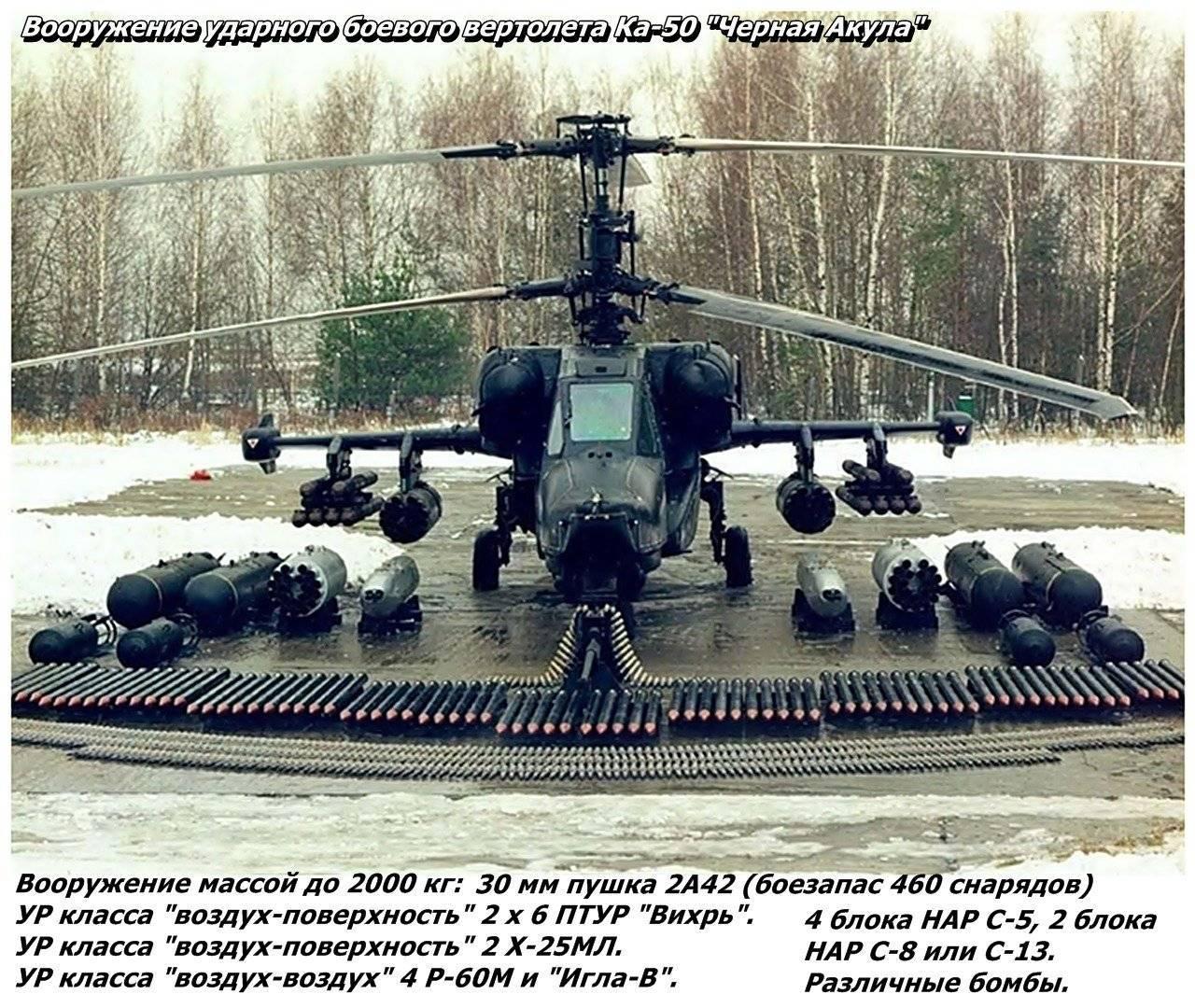 """Боевой ударный вертолет ка-50 """"черная акула"""" , фотографии, описание, тактико-технические характеристики ка-50 """"черная акула"""""""