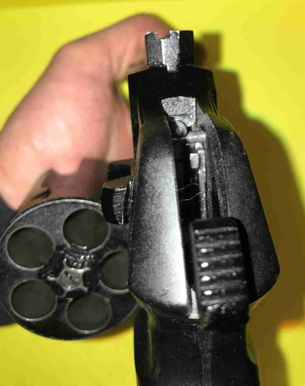 Оооп ратник - револьвер стреляющий ружейными патронами