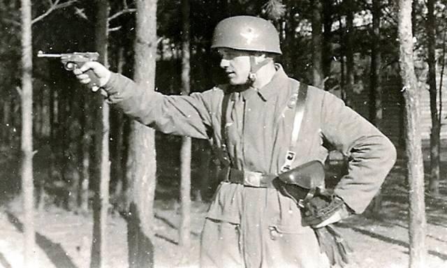 Lp.08 люгер парабеллум артиллерийский пистолет — характеристики, фото, ттх