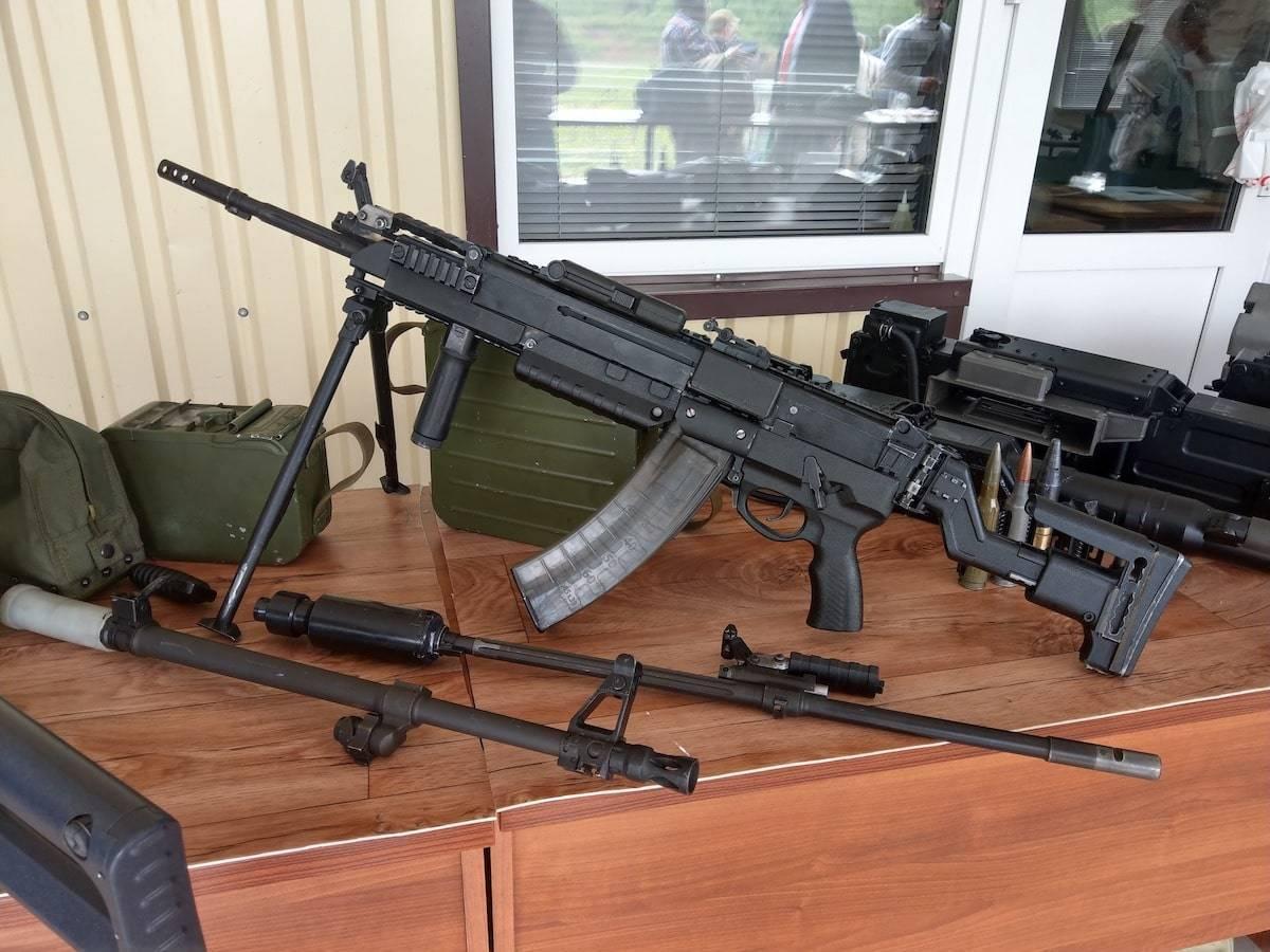 Ручной пулемет калашникова рпк-74 патрон калибр 5,45 мм