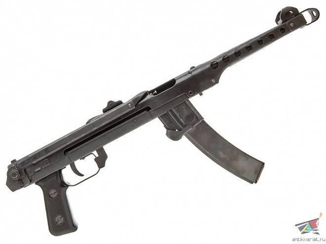 Пистолет-пулемёт судаева — википедия. что такое пистолет-пулемёт судаева