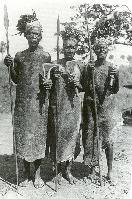 Многообразие холодного оружия в африке — мир африки