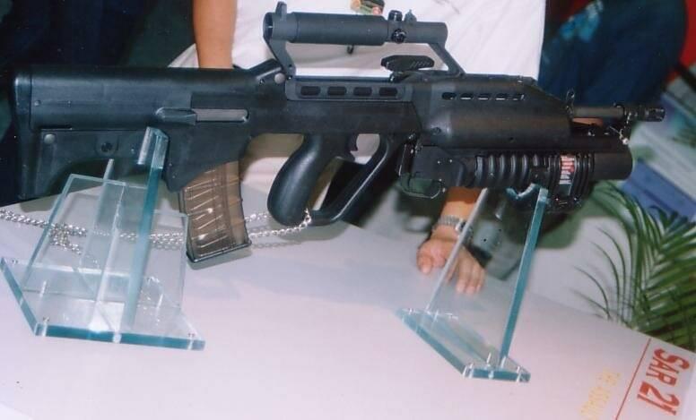 Штурмовая винтовка sar-21