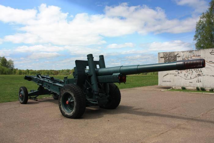 152-мм гаубица-пушка образца 1937 года (мл-20) - вики
