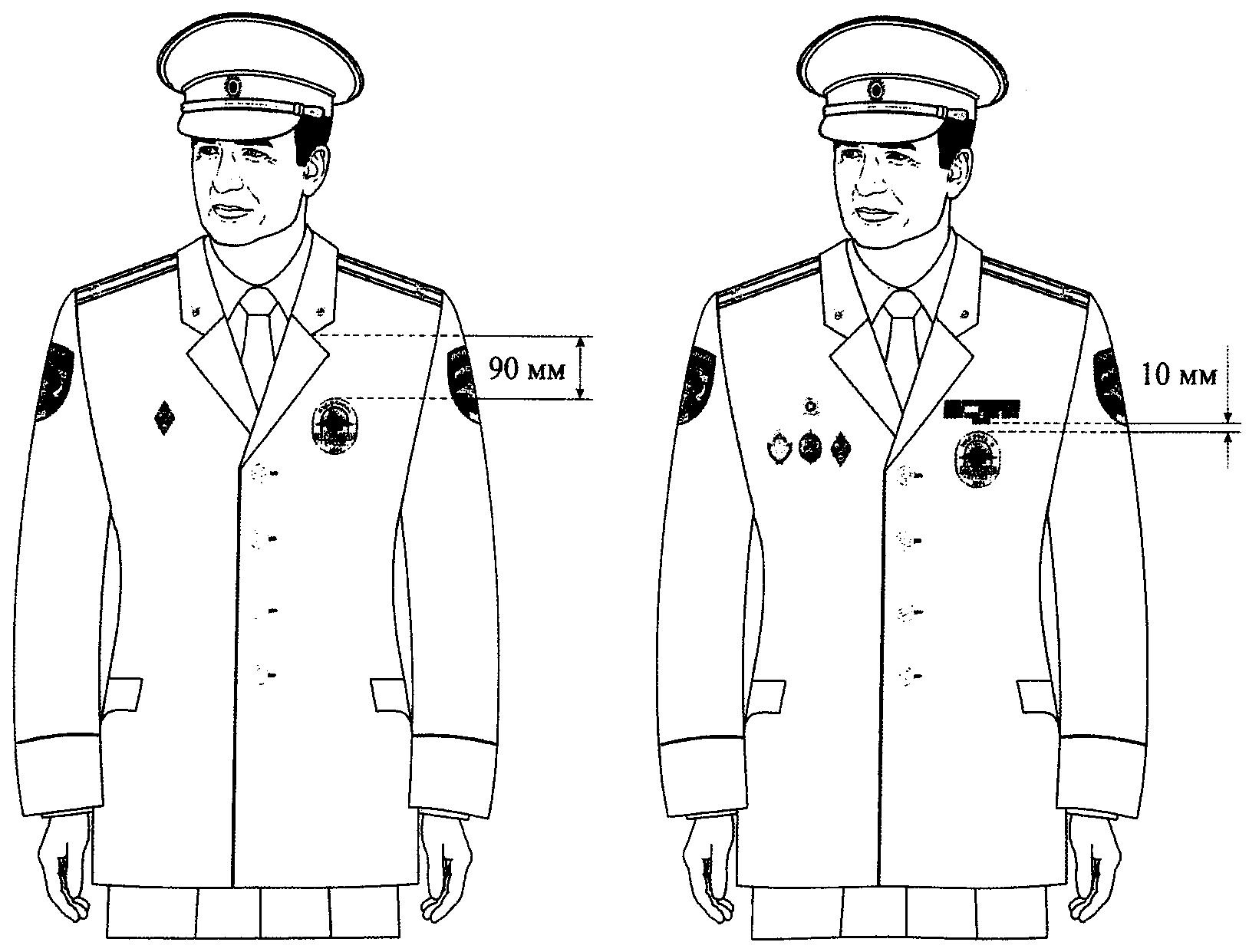 Форма генерал мвд