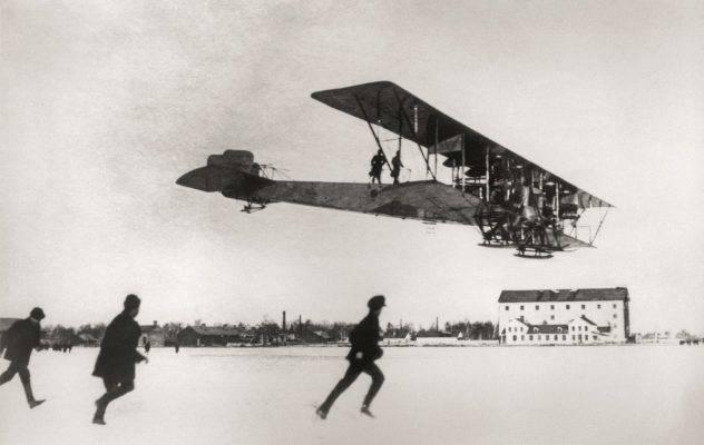 Самолёты сикорского: как поднимали в небо «илью муромца»