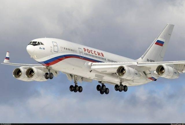 «порой они возвращаются» - ил-96-400м (часть 1) - aex.ru