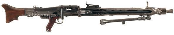 Современные пулеметы бундесвера – mg3