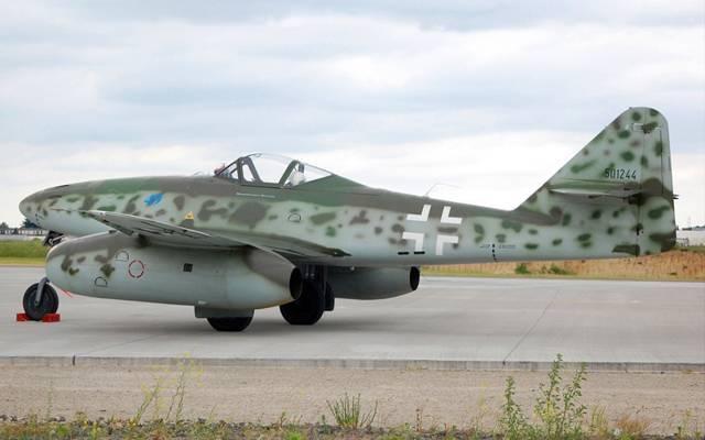 Messerschmitt 262 – самолет, который не смог переломить ход войны