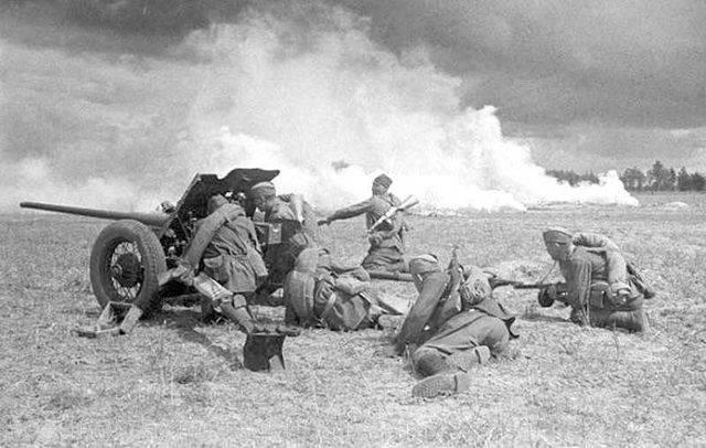 45 мм орудие. «сорокопятка» – знаменитая рабочая лошадка великой войны