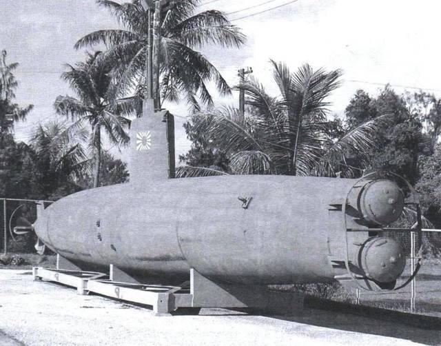 Японская человеко-торпеда кайтэн - история создания и характеристики