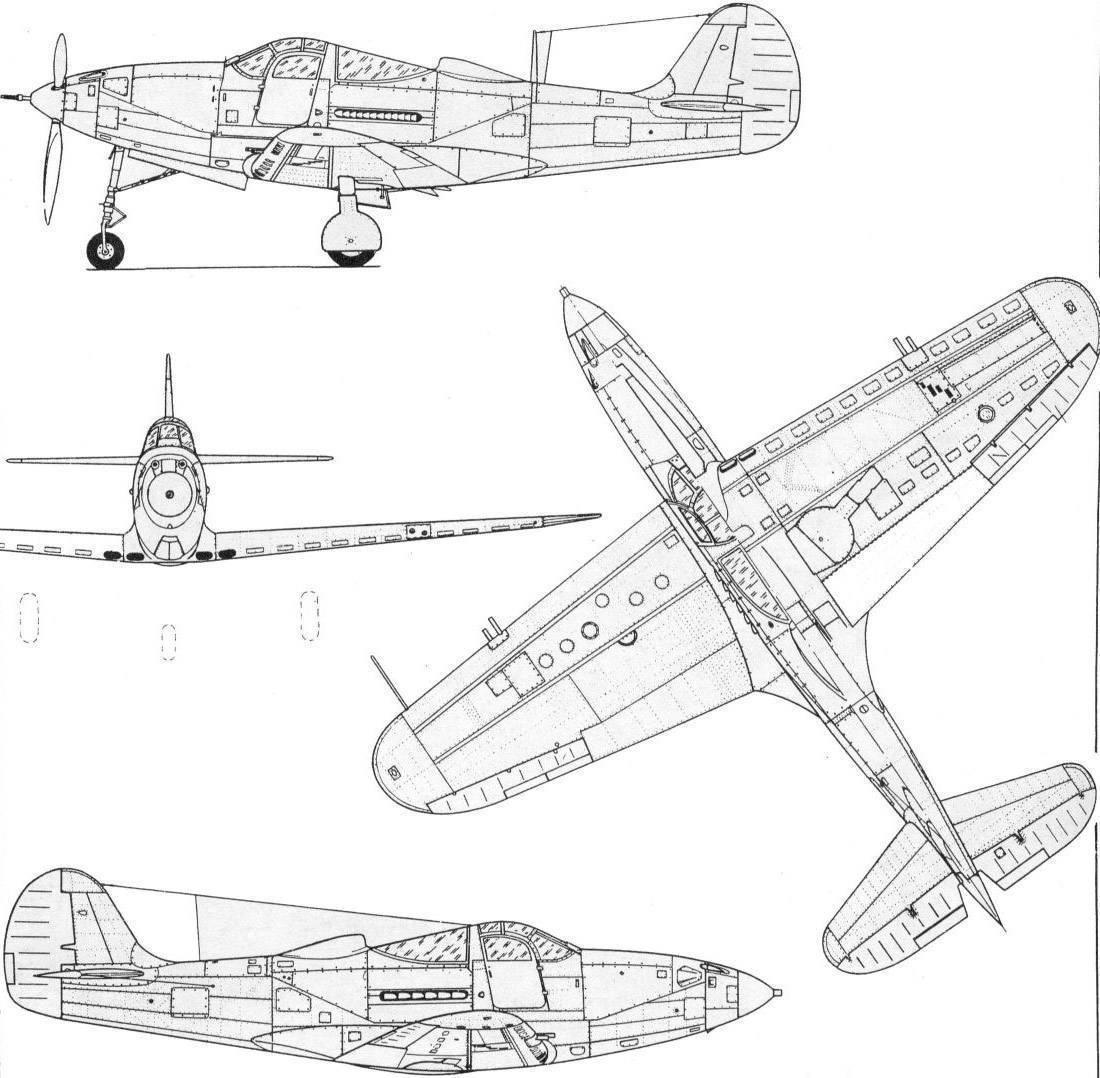 Bell p-39 airacobra — википедия