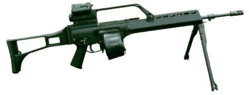Видео: штурмовая винтовка heckler & koch 416