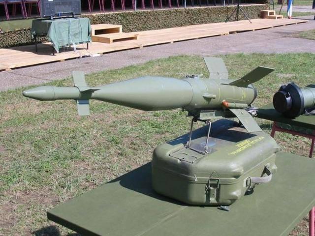 Противотанковый ракетный комплекс 9к11 малютка