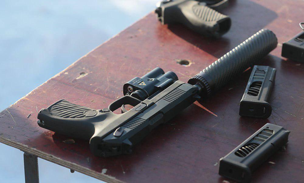Новый пистолет УДАВ -обзор и фото.
