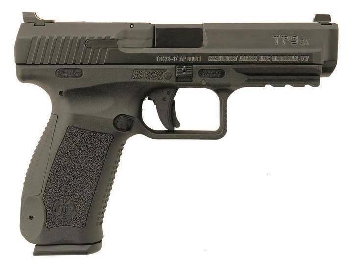 Достойный «турок». пистолет canik tp9v2