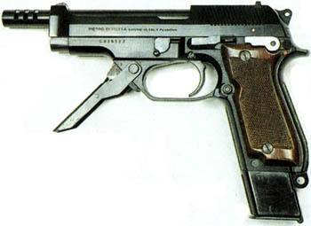 Самозарядный пистолет «беретта» м-92. характеристики, фото, описание