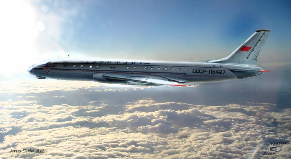 Ту-104 — описание первого Советского пассажирского самолета
