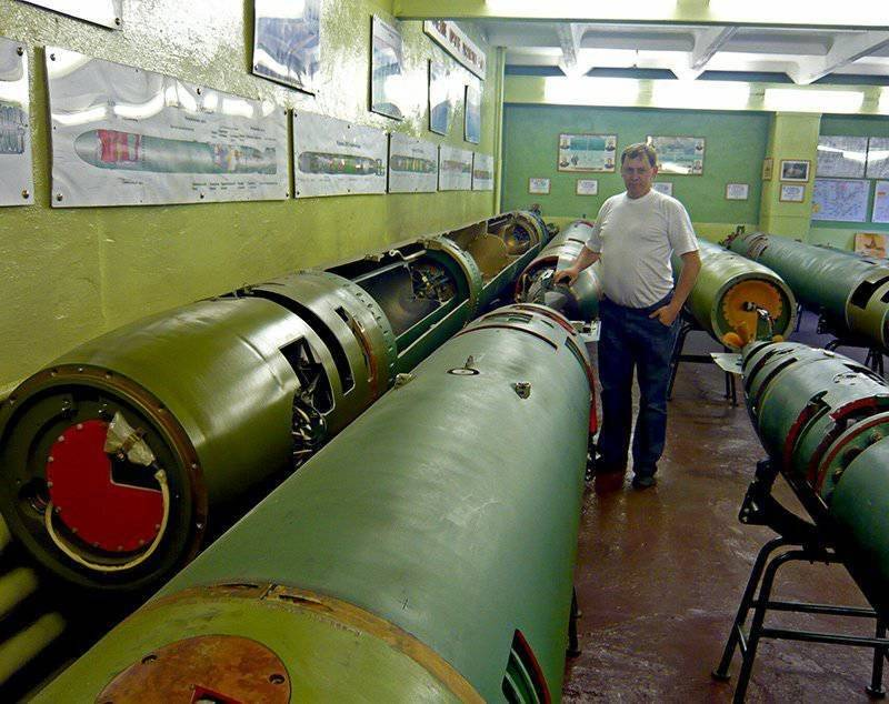 533-мм торпедный комплекс ва-111 «шквал»