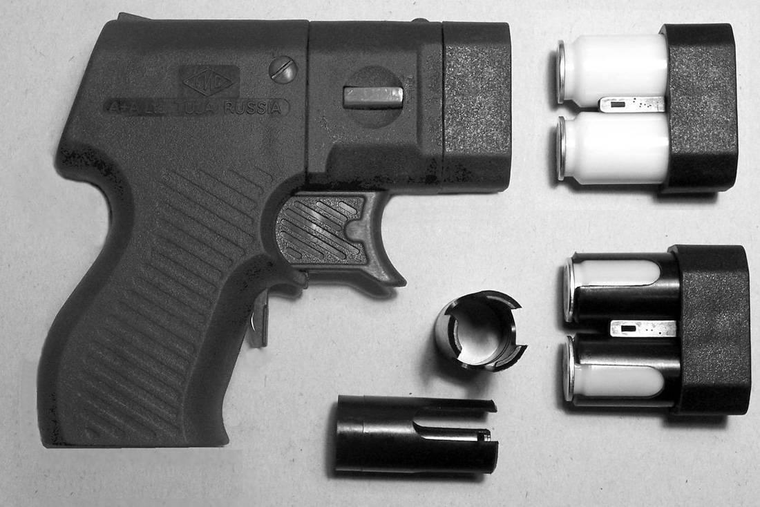Оружие самообороны: пистолет стражник мр-461