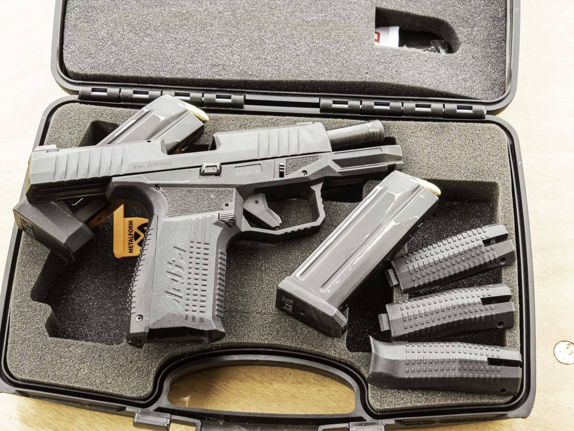 Pistolet arex modèle « rex delta » / calibre 9 mm parabellum