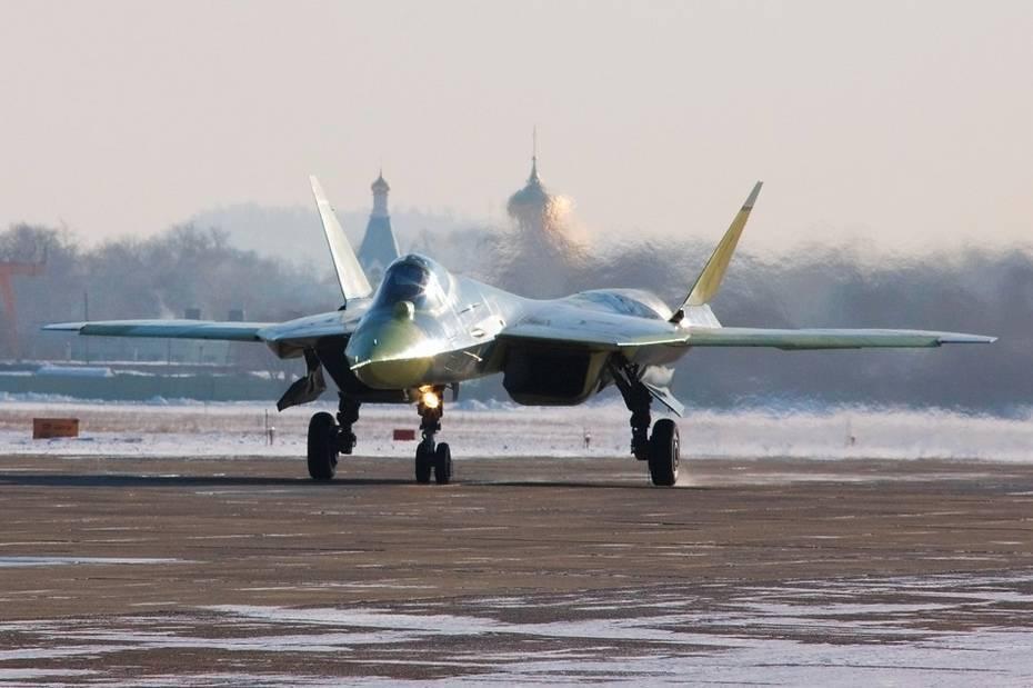 Истребитель пятого поколения Т-50 ПАК ФА (Су-57)