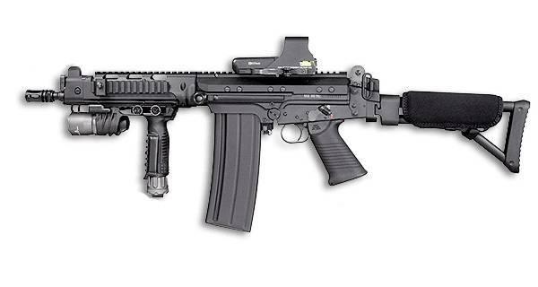 Штурмовая винтовка sa-80 (l85a1) | армии и солдаты. военная энциклопедия