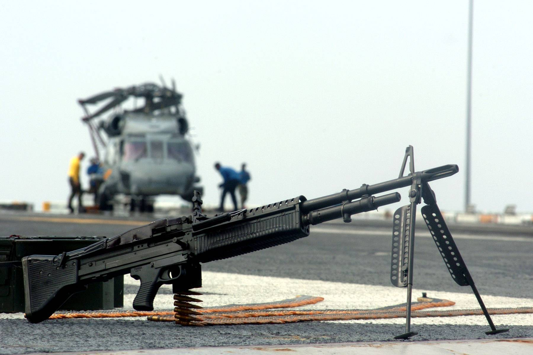 Пулемет М60 – «свинья» американской армии