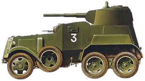 Легкий бронеавтомобиль ба-20 | армии и солдаты. военная энциклопедия