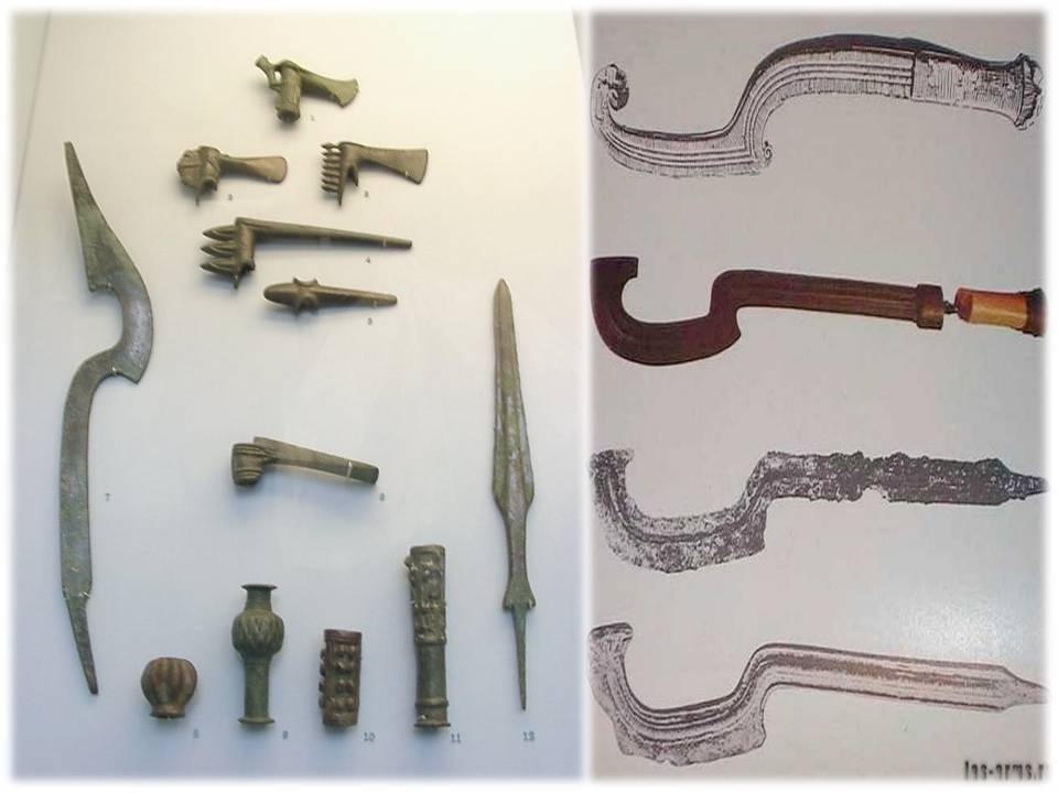 Хопеш этническое оружие нового царства. оружие в древнем египте