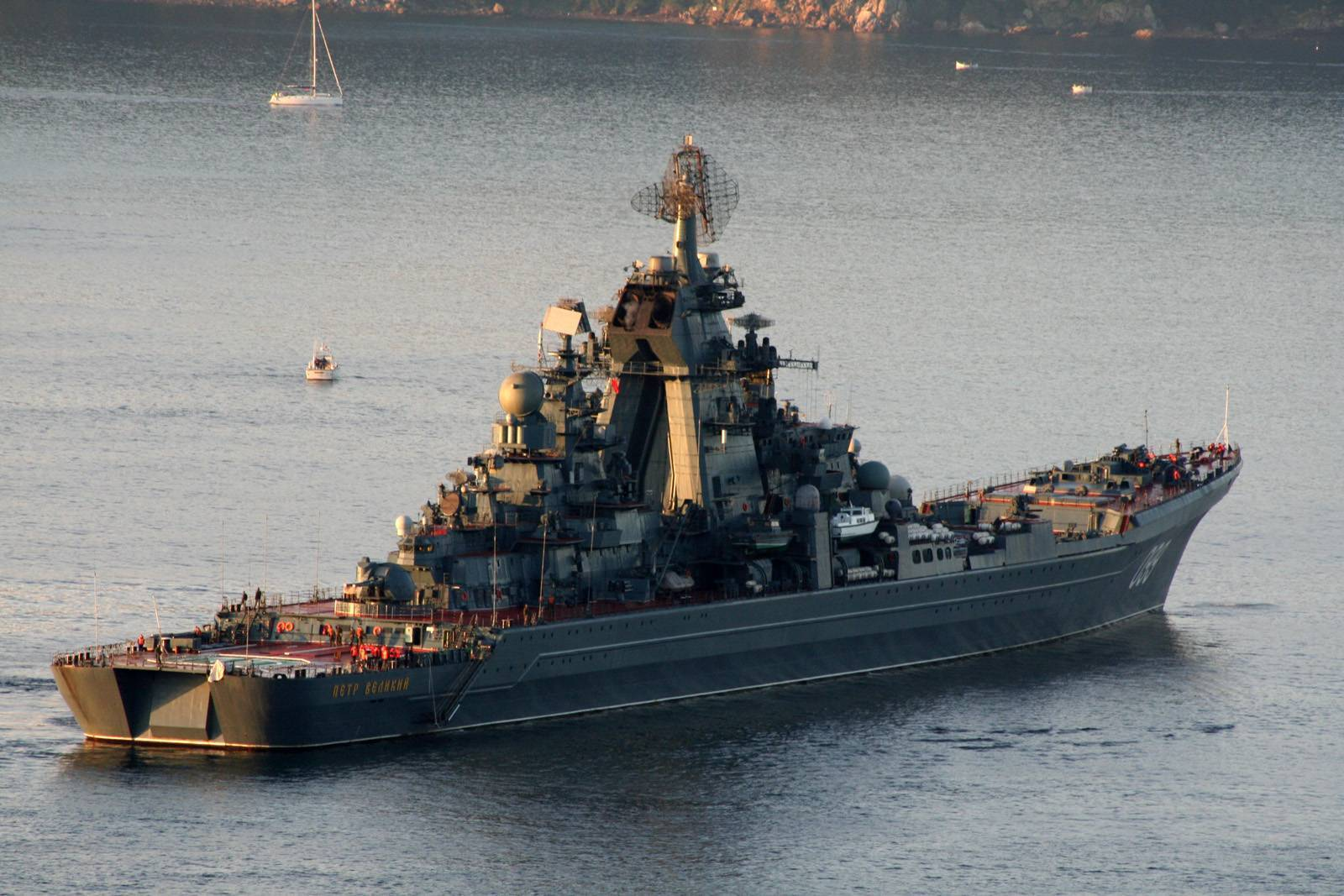 Пётр великий (крейсер) википедия