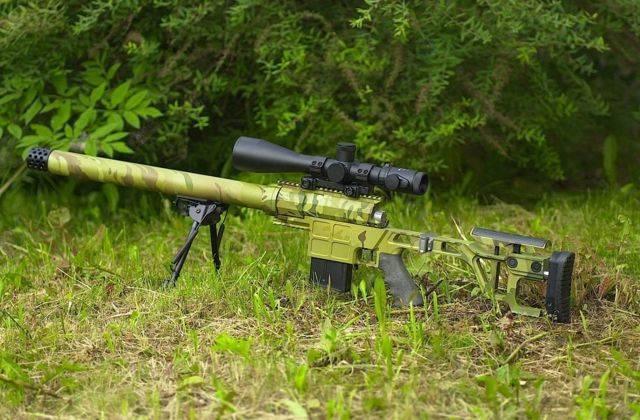 Снайперская винтовка ДВЛ-10 — высокоточное оружие нового поколения