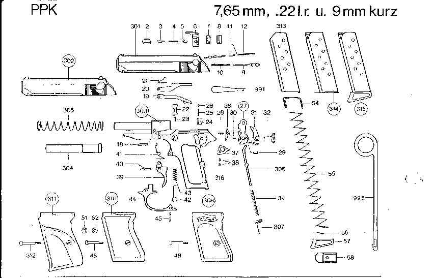 Немецкий пистолет вальтер: основные характеристики и обзор модификаций. вальтер: модификации и характеристики пистолета особенности конструкции пистолета walther pp