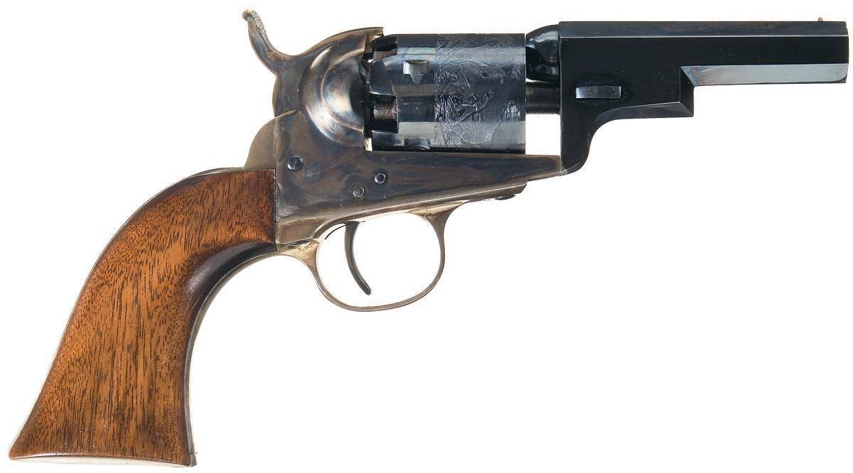 Капсюльный револьвер кольта