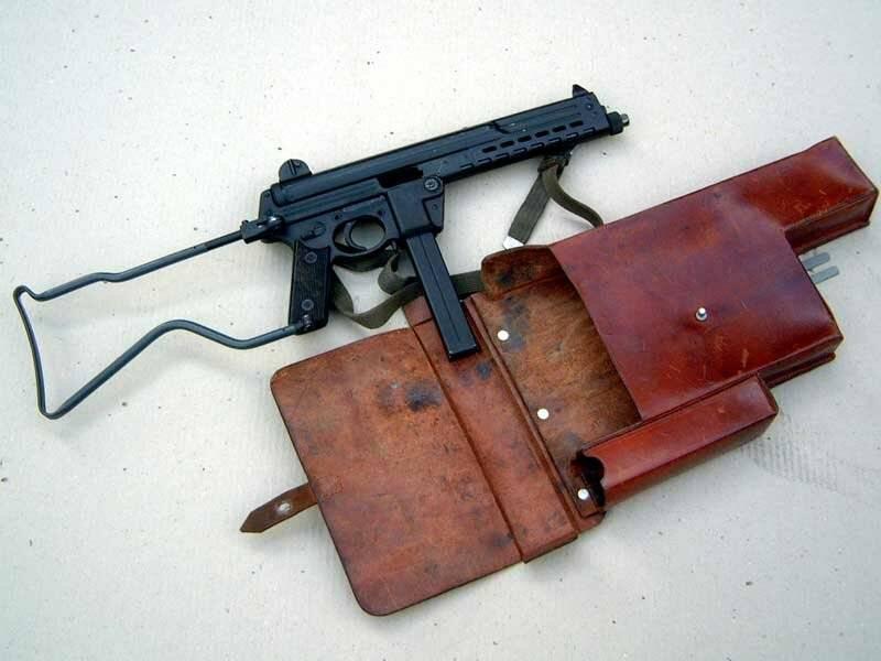 Пистолет-пулемет Walther MPK